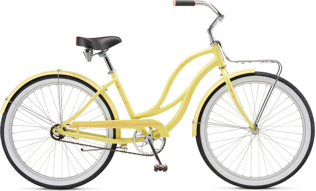 Schwinn Slik Chik 2017 yellow cruiser