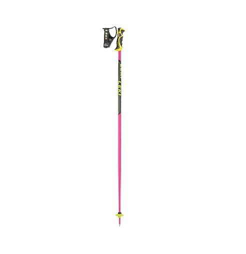 Leki Worldcup SL TBS sjezdové hole pink/black/white/yellow