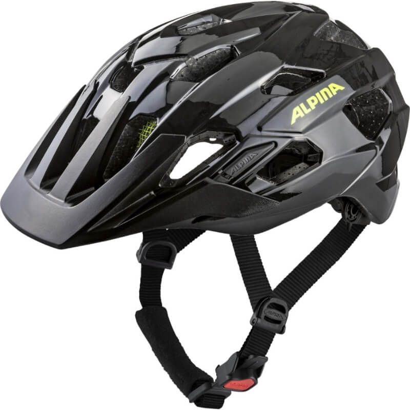 Alpina Anzana MTB přilba black/neon/yellow