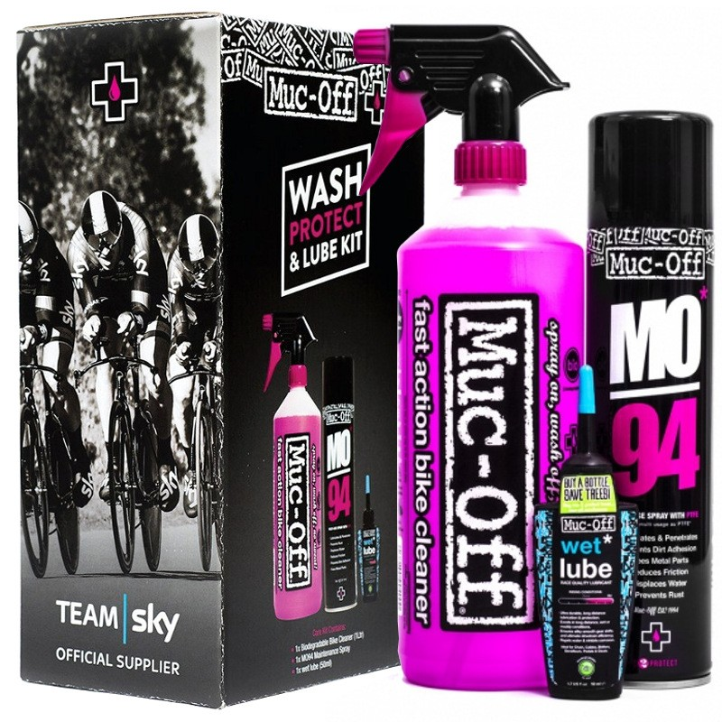 Muc-Off Wash Protect And Lube Kit