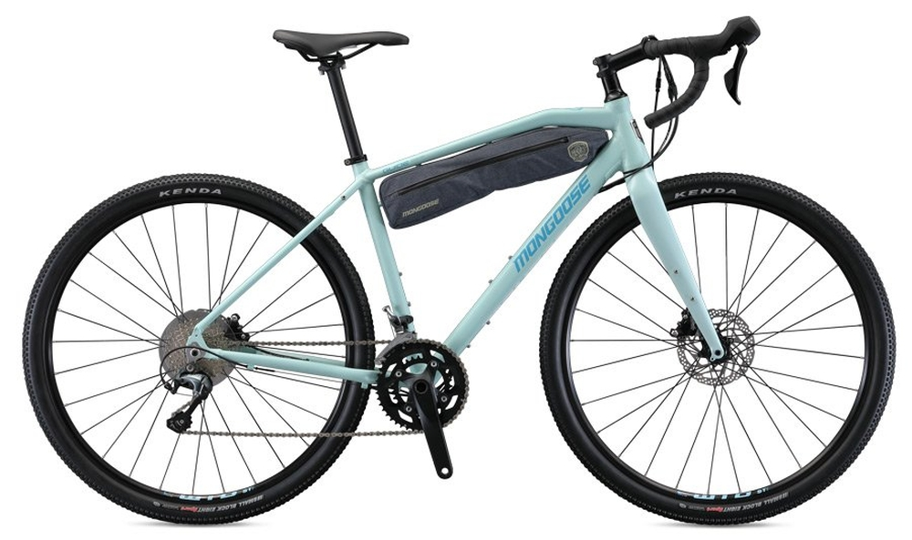 Mongoose Guide Comp 2020 gravel bike, VZOREK