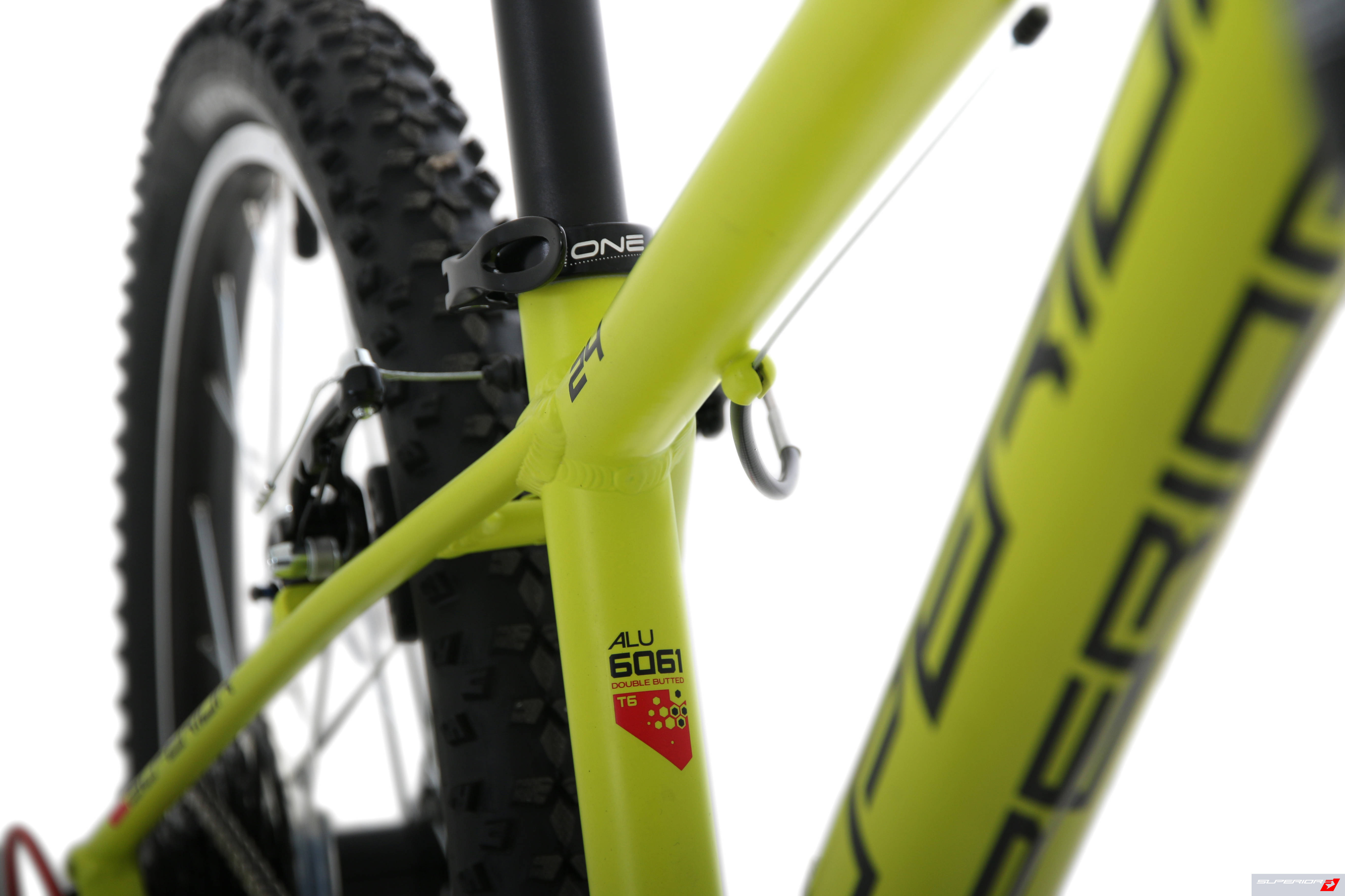 Superior Racer XC 27 2018 Matte Radioactive Yellow/Black/Red dětské kolo