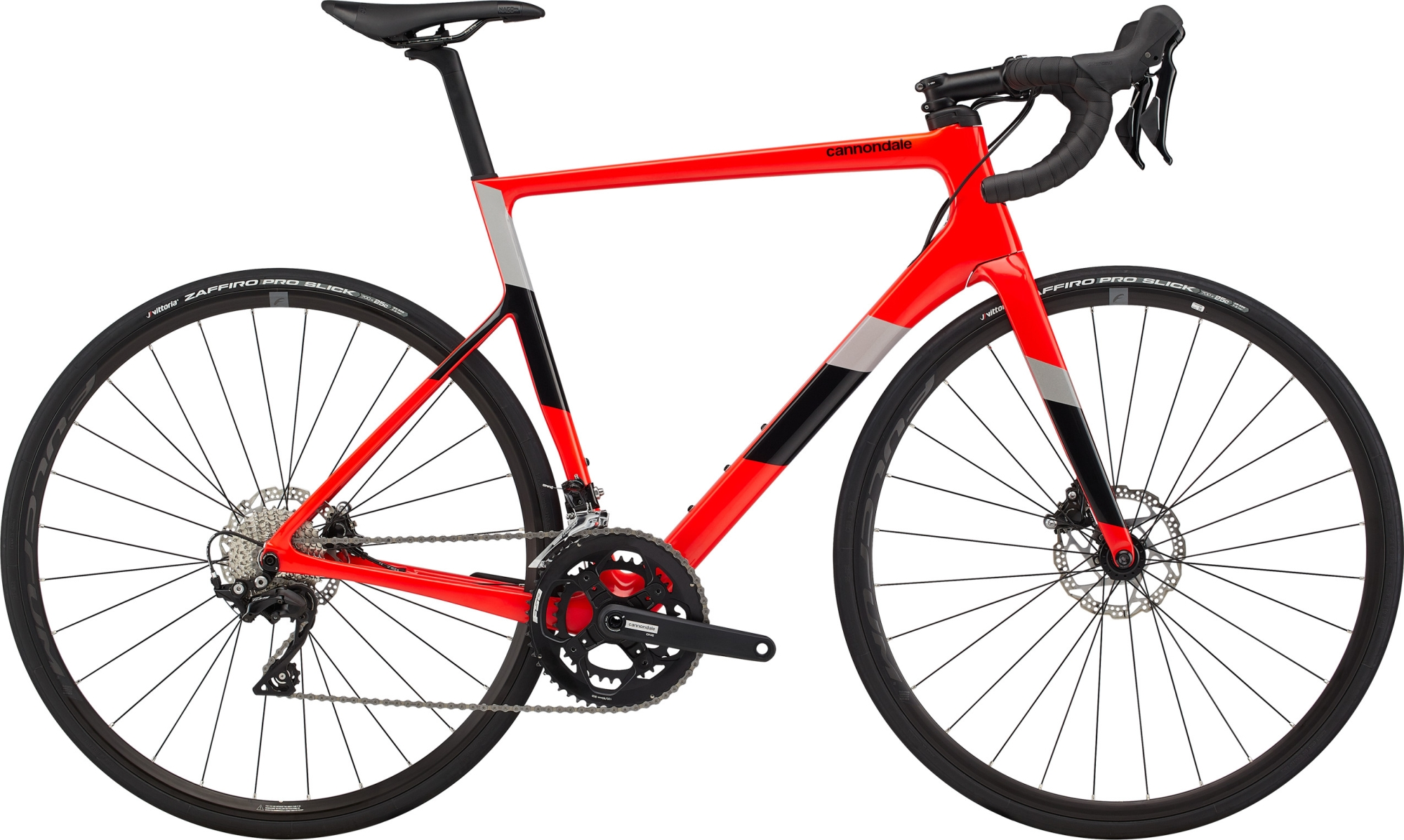 Cannondale SuperSix Evo Carbon Disc 105 50/34 2020 ARD silniční kolo