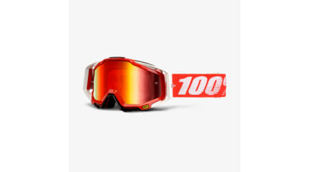 100% Racecraft Fire Red MX brýle