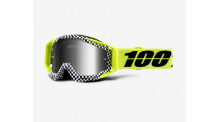 100% Raceraft Goggle Andre MTB brýle Mirror Silver Lens