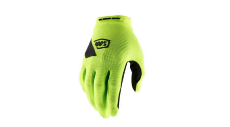 100% Ridecamp rukavice Fluo Yellow