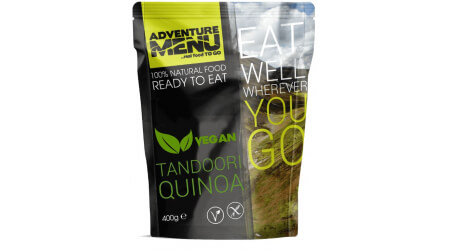 Adventure Menu Tandoori Quinoa