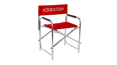 Alpinestars Chair křesílko silver/red