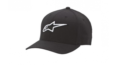 Alpinestars Corporate Flexfit kšiltovka black/white