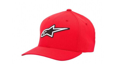 Alpinestars Corporate Flexfit kšiltovka red