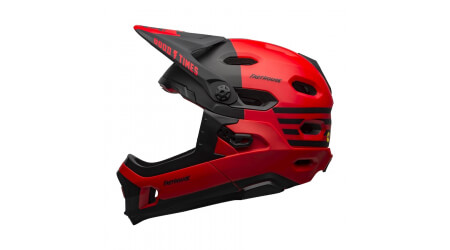 Bell Super DH Mips přilba fasthouse mat red/black
