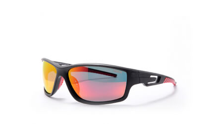 Bliz Polarized Black/Red Multi