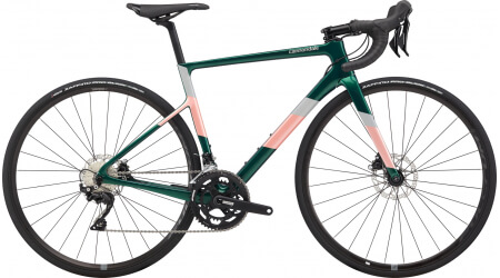 Cannondale SuperSix EVO Womens Disc 105 EMR 2020 silniční kolo