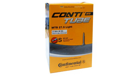 "Continental Race Light 47-62/584 S42 27,5"" MTB duše"