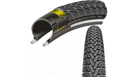 "Continental Top Contact Winter Premium 26x2,00"" MTB plášť kevlar"