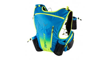 Dynafit Enduro 12 Backpack běžecký batoh Methyl Blue/Fluo Yellow 12l