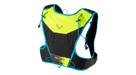 Dynafit Vertical 4 Backpack Fluo Yellow/Blue Batoh 4l