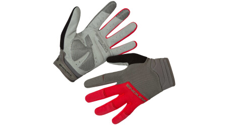 Endura Hummvee Plus II rukavice dlouhé Red