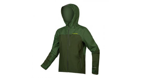 Endura SingleTrack Waterproof bunda green forest