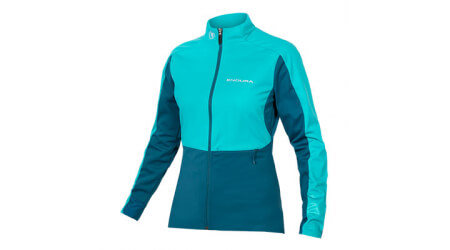 Endura Windchill II dámská bunda Pacific Blue