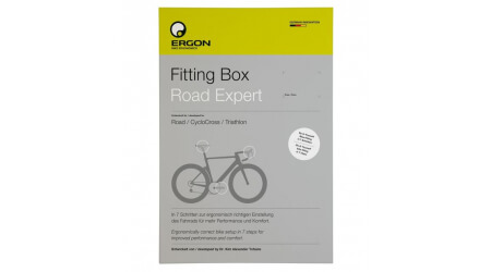 Ergon Fitting Box Road Expert - nastavení posedu