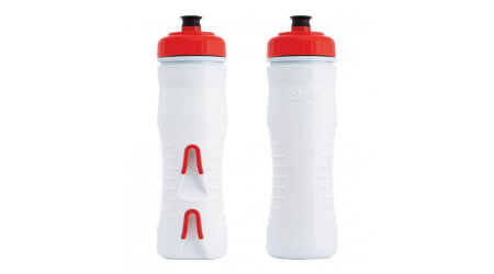 Fabric Insulated 525 ml láhev white/red