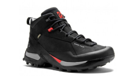 Five Ten Camp Four GTX Mid Leather boty Black Red