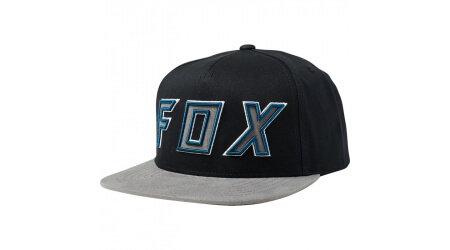 Fox Posessed Snapback Hat kšiltovka Black/Grey vel. Uni