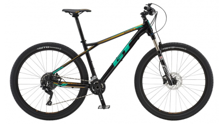 GT Avalanche 27,5 Expert Womens 2018 black pearl horské kolo