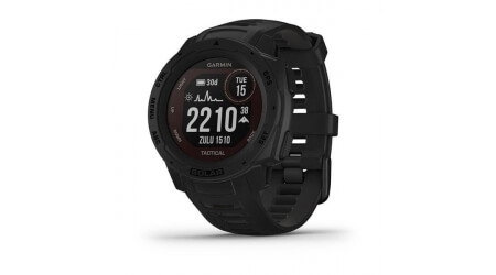 Garmin Instinct Solar Tactical Black Optic chytré hodinky