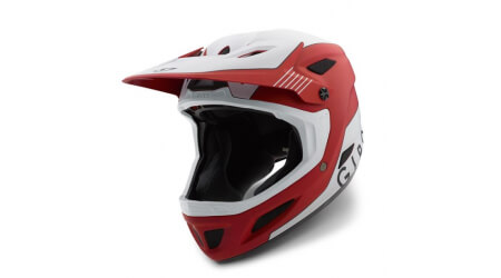 Giro Disciple MIPS downhill přilba mat dark red