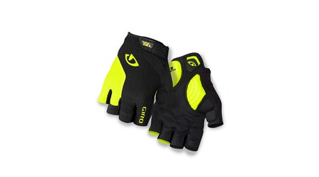Giro Strade Dure rukavice Black/Highlight Yellow