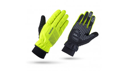 Grip Grab Ride Hi-Vis Windproof Winter rukavice