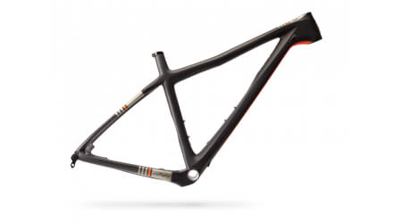 Ibis DV9 29 Black/Orange MTB rám