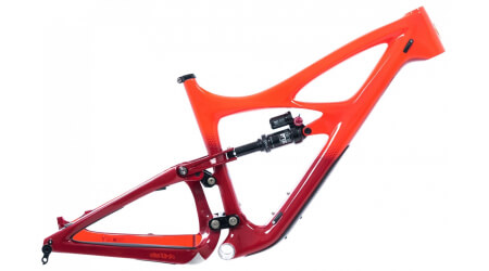 Ibis Mojo HD4 rám s tlumičem Fox Float X2 Fireball Red