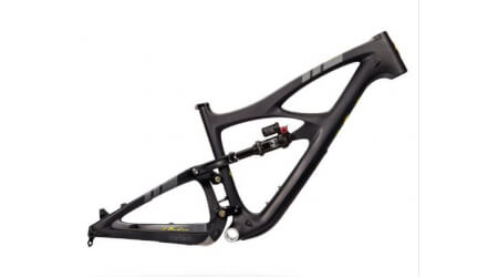 Ibis Mojo HD5 rám s tlumičem Fox Float DPX2 Charcoal