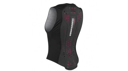 Komperdell Air Vest ochranná vesta 2019/20, women, black-pink
