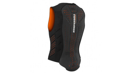 Komperdell AirVest ochranná vesta 2019/20 black-orange