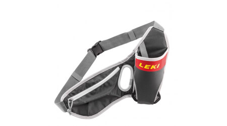 Leki Drinkbelt ledvinka grey red neonyellow