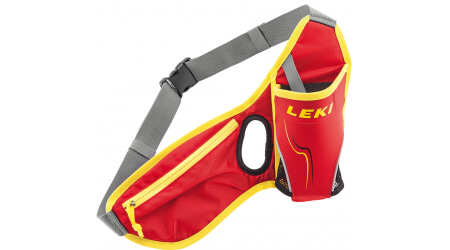 Leki Drinkbelt ledvinka red neonyellow