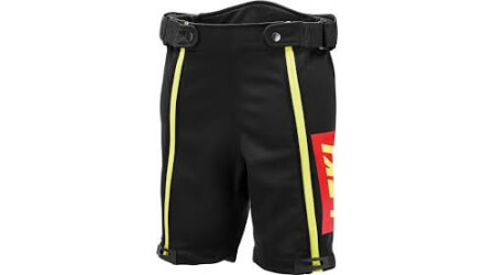 Leki Racing Short Thermo, softshellové kraťasy black