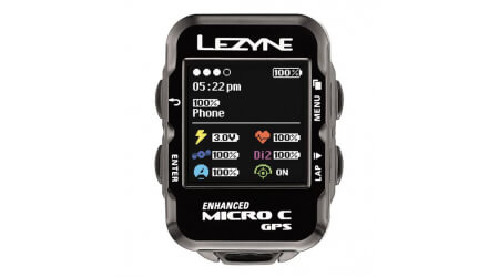 Lezyne Micro Color GPS HRSC Loaded navigace