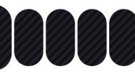 Lizard Skins Carbon Patch Kit sada samolepek na rám 8ks