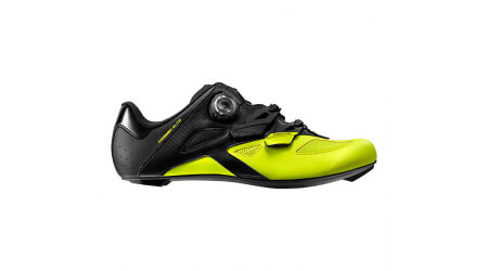 Mavic Cosmic Elite silniční tretry black/black/safety yellow