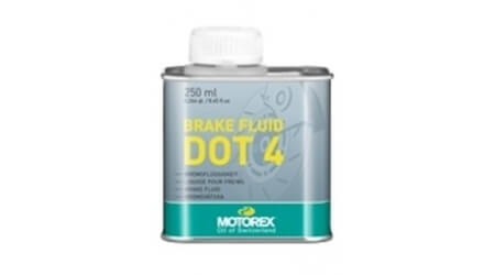 Motorex Brake Fluid DOT 4, 250ml