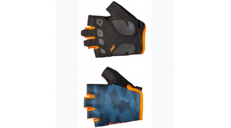 Northwave Active dětské rukavice blue/orange