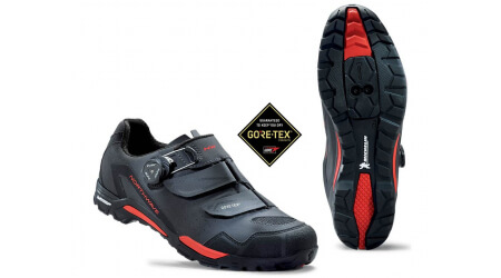 Northwave Outcross Plus GTX zimní MTB tretry Anthra/Red