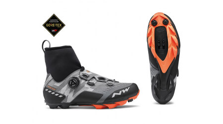 Northwave Raptor GTX zimní MTB tretry Reflective/Orange Lobster