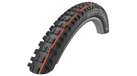 "Schwalbe Eddy Current Rear Super Trail Addix Soft TLE, E-50 29,0x2,60"" MTB plášť kevlar"