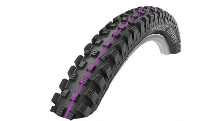 "Schwalbe Magic Mary Addix UltraSoft SuperG SS TLE 26x2,35"" MTB plášť kevlar"
